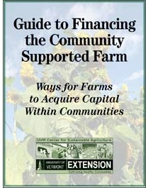 Guide to Financing the Community Supported Farm