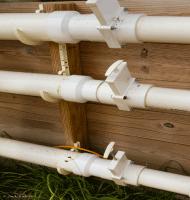 PVC Airflow Gate Valves