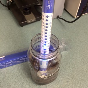 Electric Conductivity Meter.